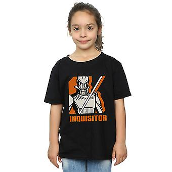 Star Wars ragazze ribelli inquisitore t-shirt