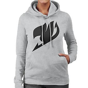 Hooded Sweatshirt des femmes Chibi Fairy Tail Logo