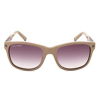 DSquared DQ0105 45T Sunglasses | Blush Frame | Purple Gradient Lens