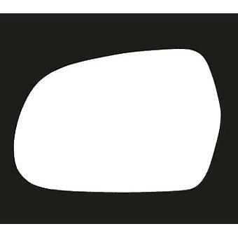 Venstre passasjer side Stick-on speil glass for Audi a3 konvertible 2010-2013