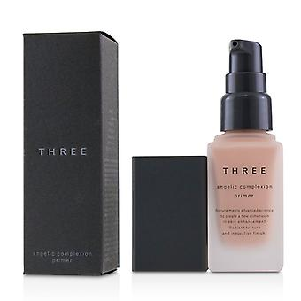 Three Angelic Complexion Primer Spf22 - # 01 Pink Petal - 30g/1.06oz