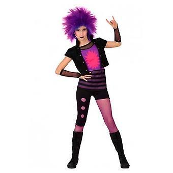 Kostiumy dla dzieci dzieci Punk Ubierz strój dla dziewczyny