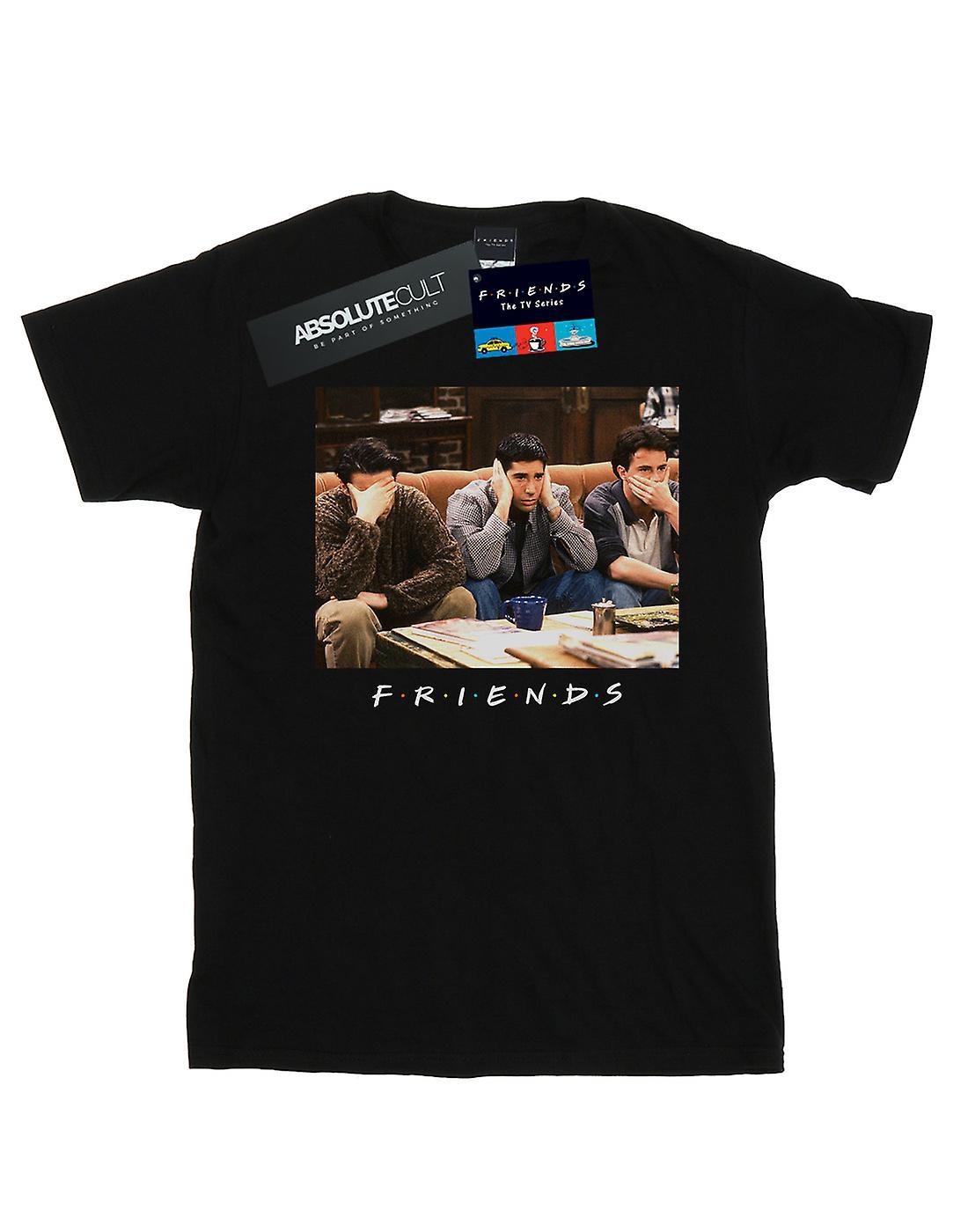 Friends Women's Three Wise Guys Boyfriend Fit T-Shirt