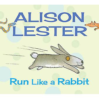 Corra como um coelho por Alison Lester - livro 9781743313275