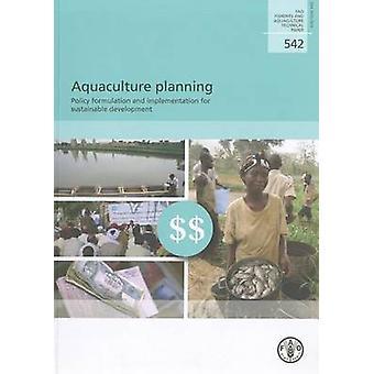 Planification de l'aquaculture - Policy Formulation and Implementation de Susta