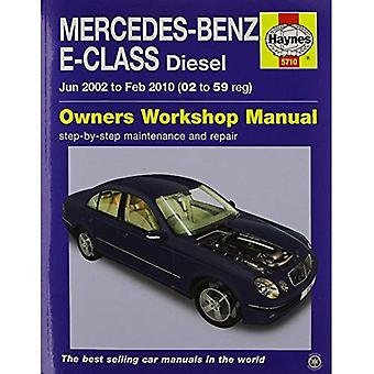 Mercedes-Benz E-klasse Diesel Service en reparatie handleiding 2002-10