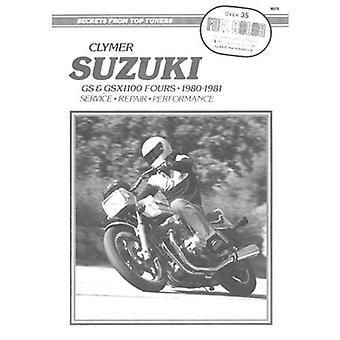 Suzuki GS and GSX1100 Fours: Clymer Workshop Manual
