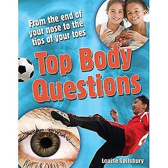 Top Körper Fragen: Alter 8-9, über durchschnittliche Leser (Weiße Wölfe Sachbuch)
