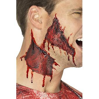 Rippet hud tatovering overførsler