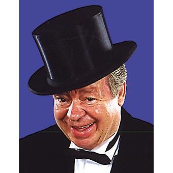 قبعة سوداء قابلة للطي للكبار