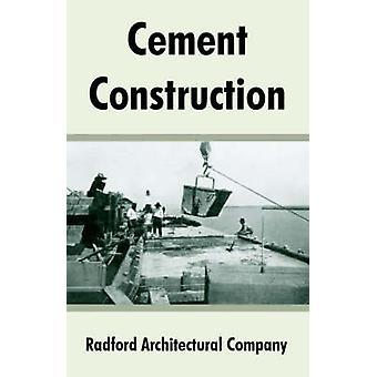 Cement bouw door Radford architecturale bedrijf