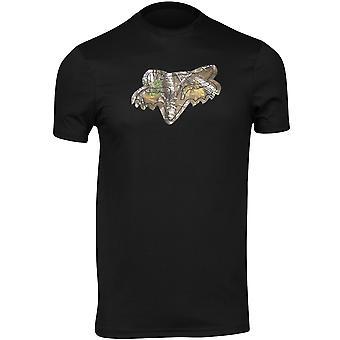 Fox Racing Mens Realtree Short Sleeve Tech T-Shirt - Black