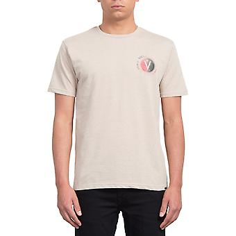 Volcom Find Short Sleeve T-Shirt in Oatmeal