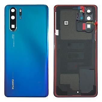 Huawei batteri dekke batteri dekke batteridekselet Aurora blå for P30 Pro 02352PGL reparere nye