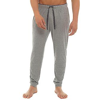 Meias Uwear Mens Marl Jersey pijama calça Lounge Wear