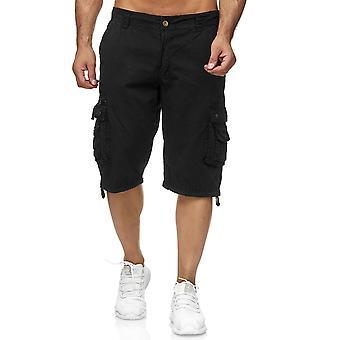 Мужские грузов шорты Бермуды днища урожай хлопка брюки повседневные Открытый штаны