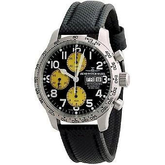 Zeno-watch mens watch NC pilot tachymeter chronograph-date 9557TVDD-2T-b19