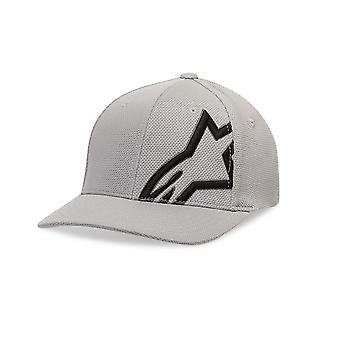Alpinestars Mens Mock Mesh Curve Cap ~ Corp Shift silver/black