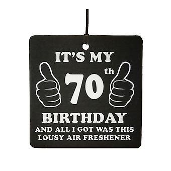 70 ° compleanno schifoso auto deodorante...