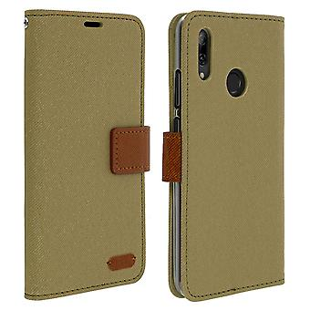 Huawei P Smart 2019 and Honor 10 Lite Case Cover, Green, Roar, Card Holder