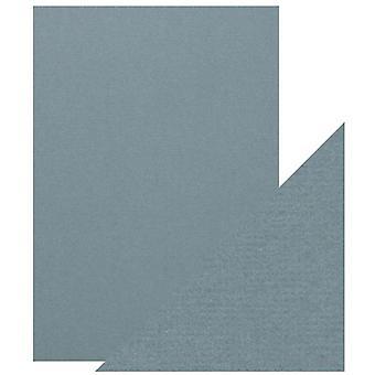 Craft Perfect von Tonic Studios A4 Classic Card Denim Blue | Pack von 5