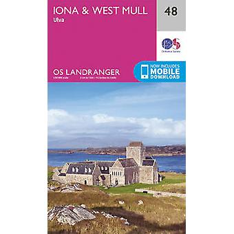 Iona & West Mull - Ulva by Ordnance Survey - 9780319261460 Book