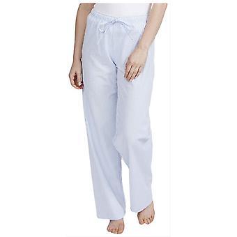 British Boxers Porthtowan Seersucker Pyjama Trousers - Light Blue