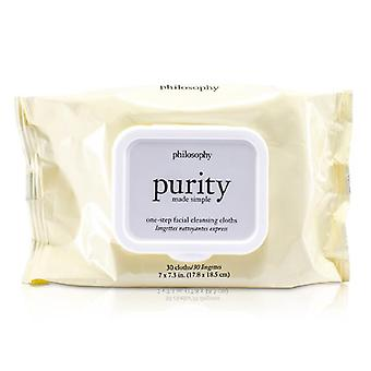 Philosophy Purity Made Simple One-step Facial Cleansing Cloths - 30towlettes
