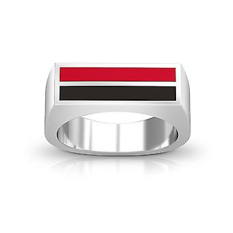 University of Central Missouri Ring In Sterling Silver Design by BIXLER