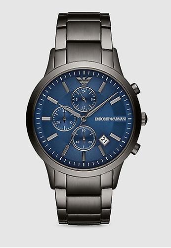 Emporio Armani Ar11215 Men's Gunmetal Stainless Steel Watch