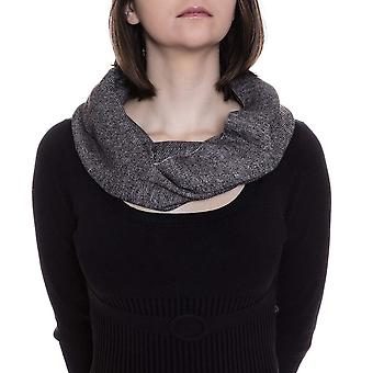 Rampage French Terry Infinity Loop Heavy Fashion Scarf Pashmina Gray