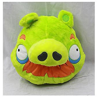 Plush Backpack - Angry Birds - Green Pig Pa Pa Gifts New Doll Toys an10965b