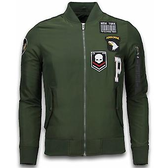 BomberJack - Airborne Patches - Green