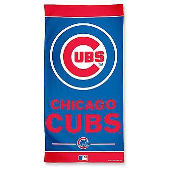Wincraft MLB Chicago Cubs stranden håndkle 150x75cm