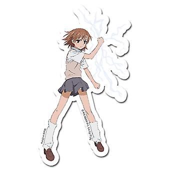 Sticker - Certain Magical Index - New Misaka Anime Gifts Toys Licensed ge55312