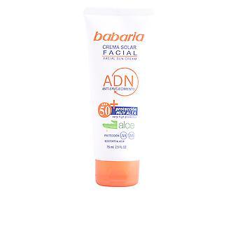 Babaria Solar Adn Crema Solar Facial Aloe Vera Spf50 75 Ml Unisex