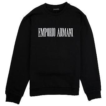 Emporio Armani ' lopettaa haluavat alkaa tehdä ' College Nero 0999