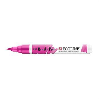 Talens Ecoline Liquid Watercolour Brush Pen - 350 Fuchsia