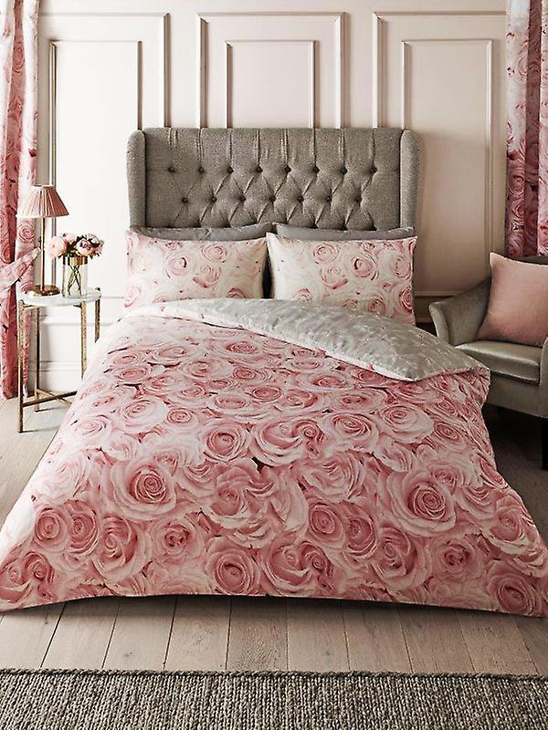 Bellerose Floral Double Duvet Cover Set - Pink