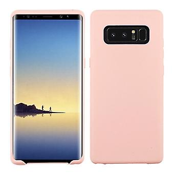 Rose goud mat Candy Skin cover voor Galaxy Note 8