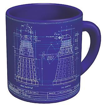 Mug - UPG - Dalek Genesis New Coffee Cup 3745