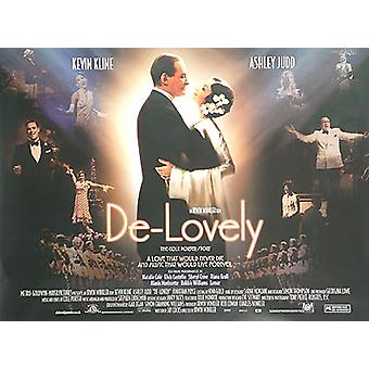 De-Lovely (kaksipuolinen) alkuperäinen elokuva juliste