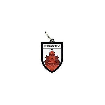 Deur Cles sleutels cle Flag collectie stad Blason Helsingborg Suede