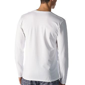 Mey Men 46520-101 Men's Dry Cotton Colour White Long Sleeve Top