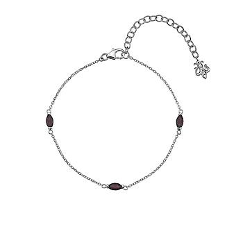 Anais Hot Diamonds Anais January Garnet Bracelet AB001