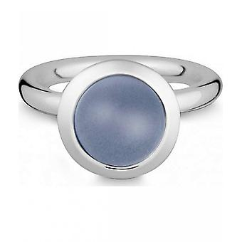 Quinn - Silver ring with chalcedony - 021839615