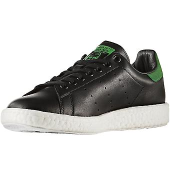Adidas Originals menns Stan Smith boost lav Rise Lace up trenere-svart/grønn