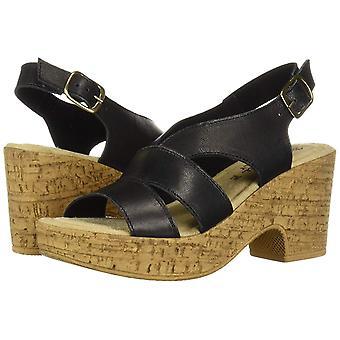 Bella Vita naiset ' s Jaz-Italia slingback sandaalinen kenkä, musta italialainen nahka, 6 M US