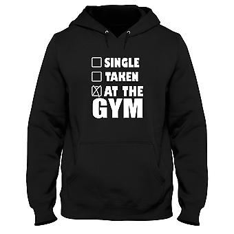 Black man hoodie gen0379 single taken at the gym