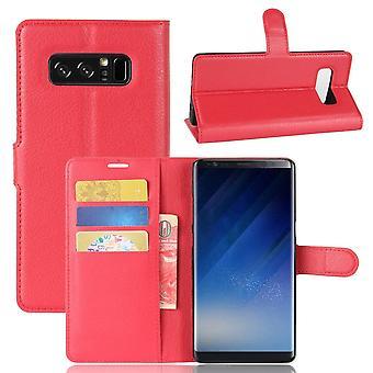 Fodral för Samsung Galaxy Note 8 Red Card Holder